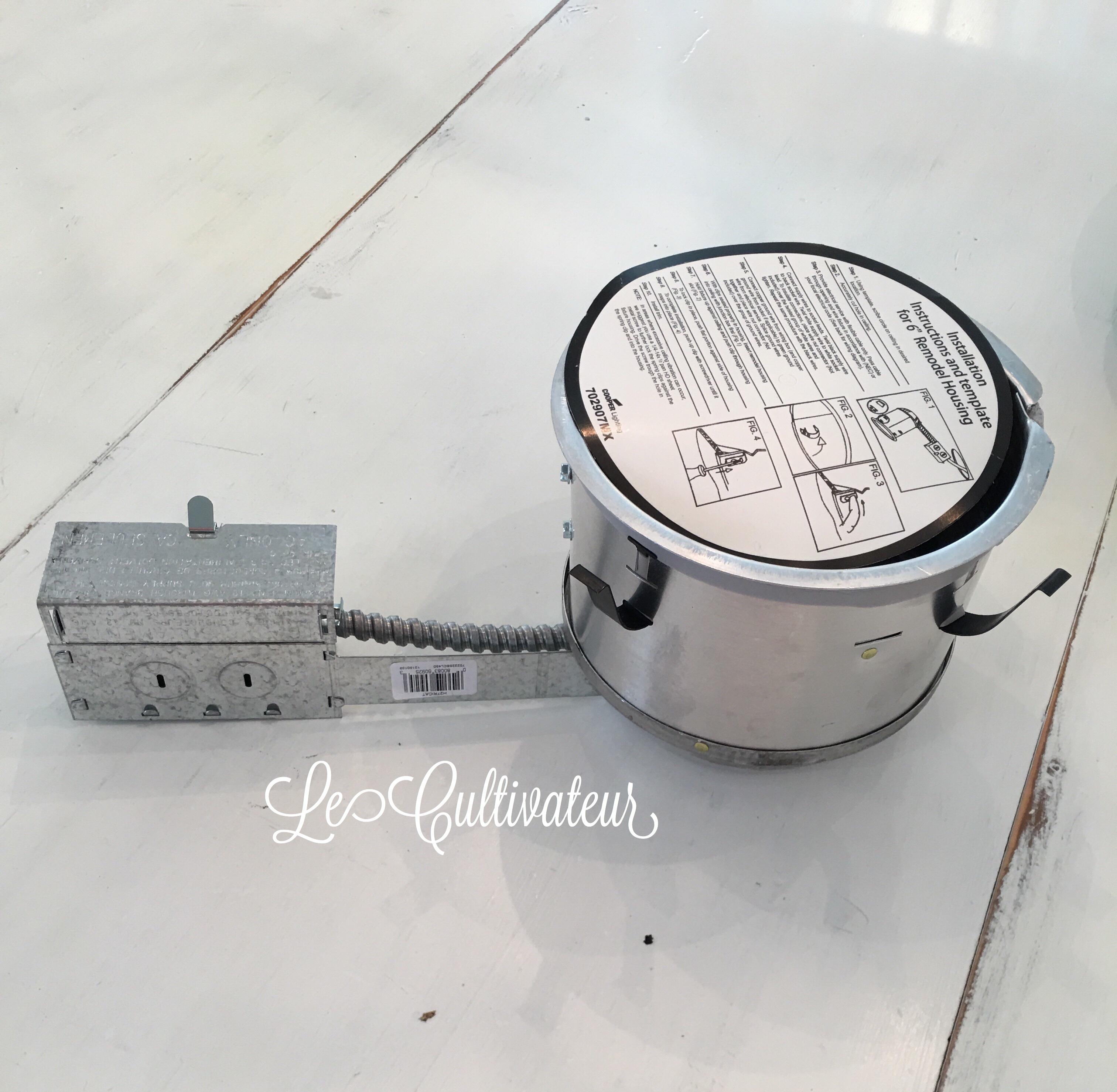 Diy Recessed Lighting Lecultivateur