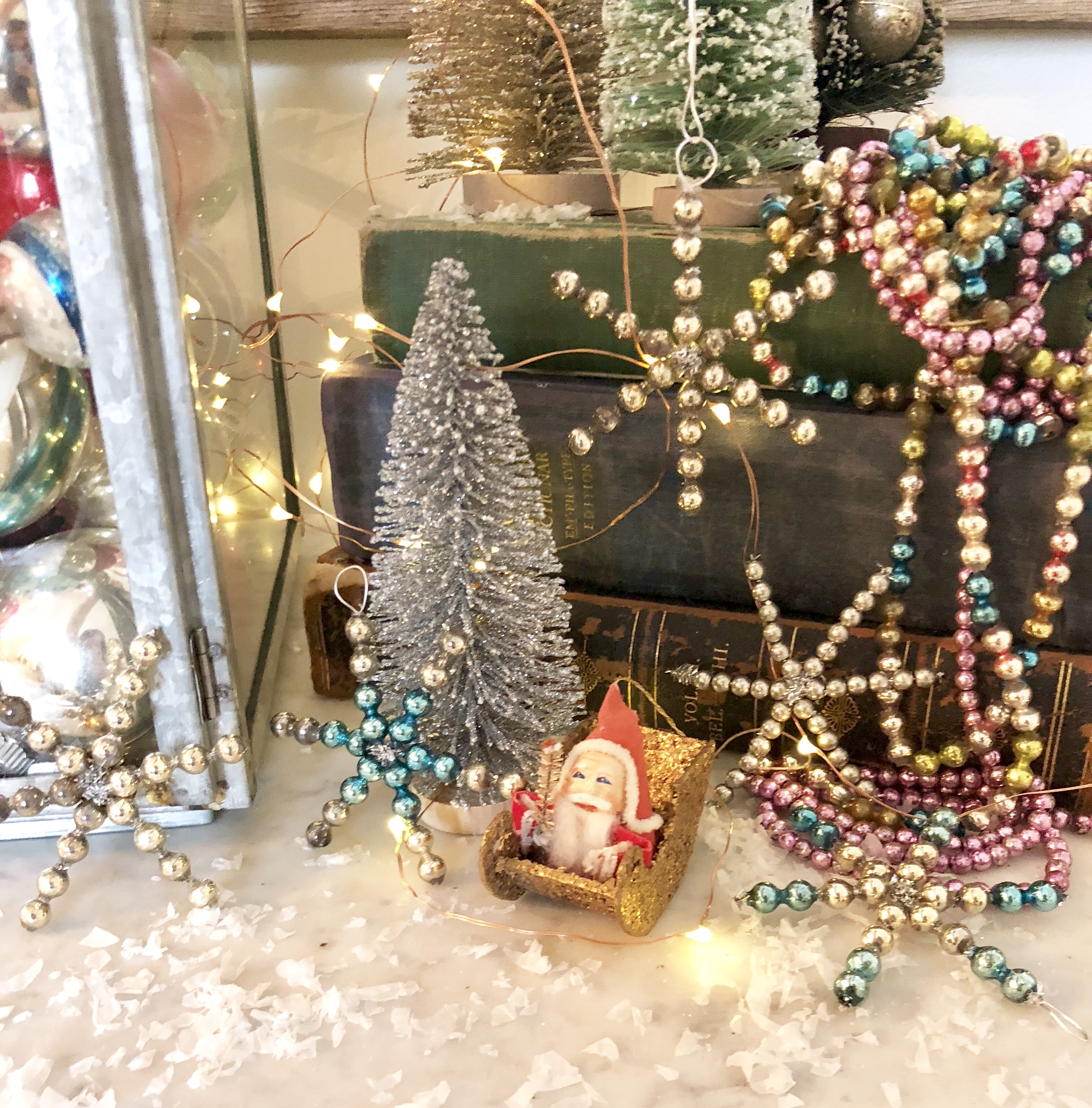 Vintage Christmas Ornaments & A