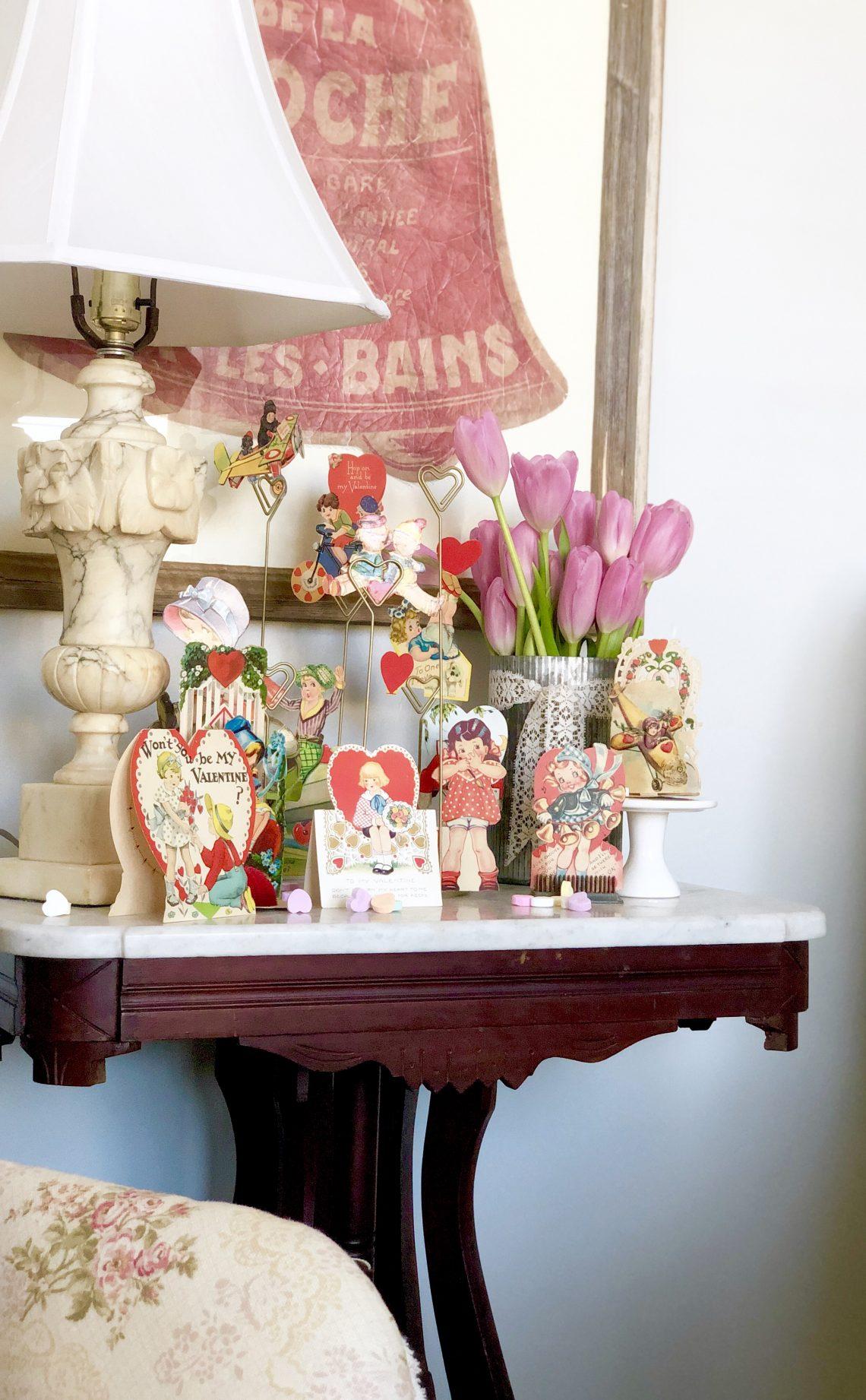 Vintage Valentine's Day Decor ~ LeCultivateur