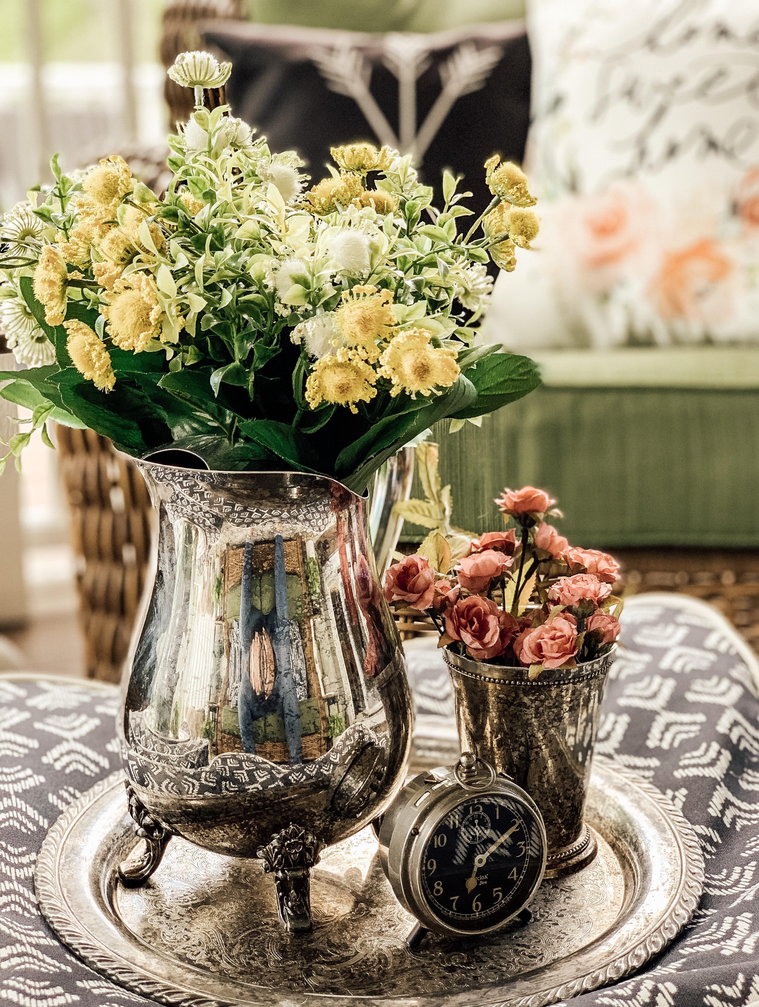 Flower Planter: May Thrift Store Challenge 3